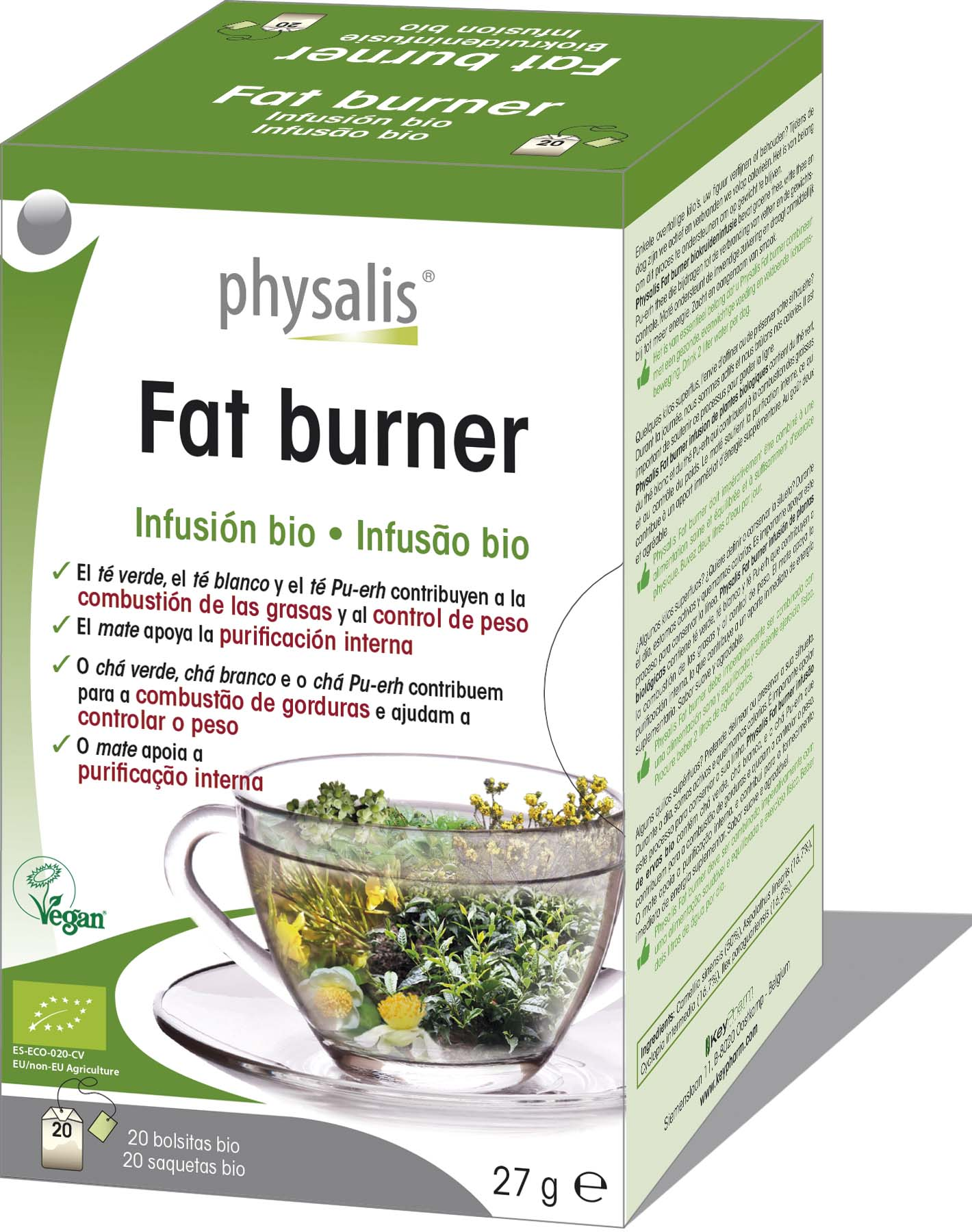 Fat burner Infusión bio