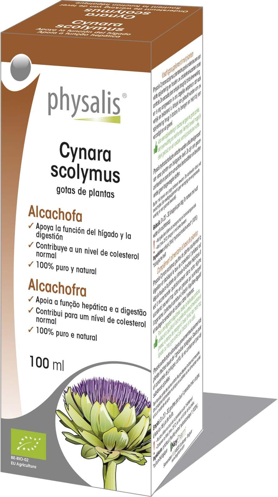 Cynara Scolymus Gotas De Plantas Keypharm Suplementos