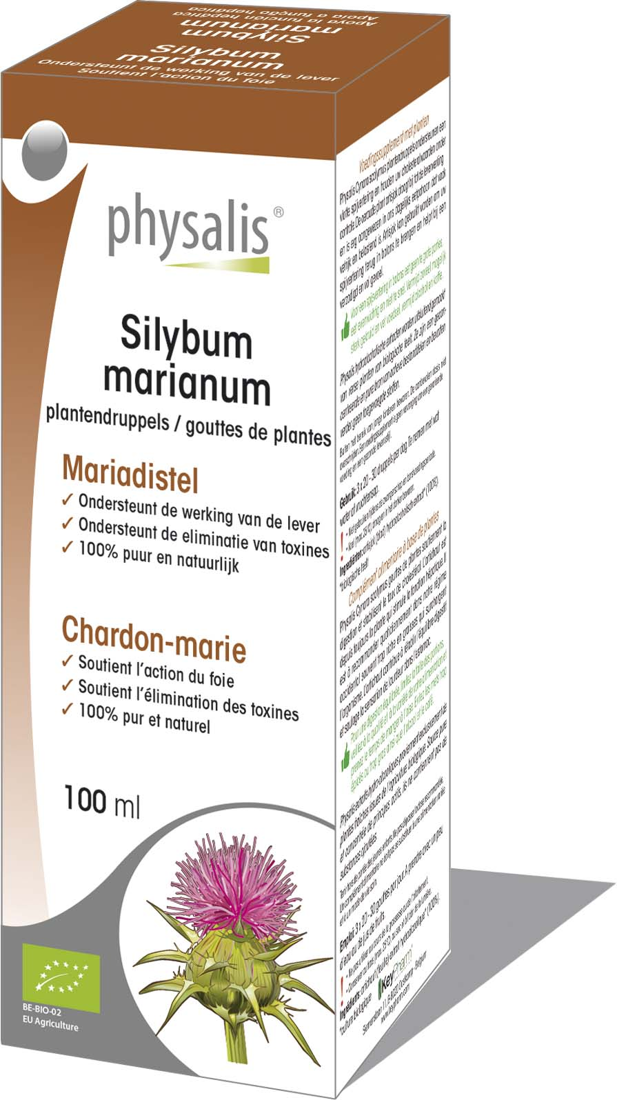 Silybum marianum  plantendruppels  Keypharm Natuurlijke