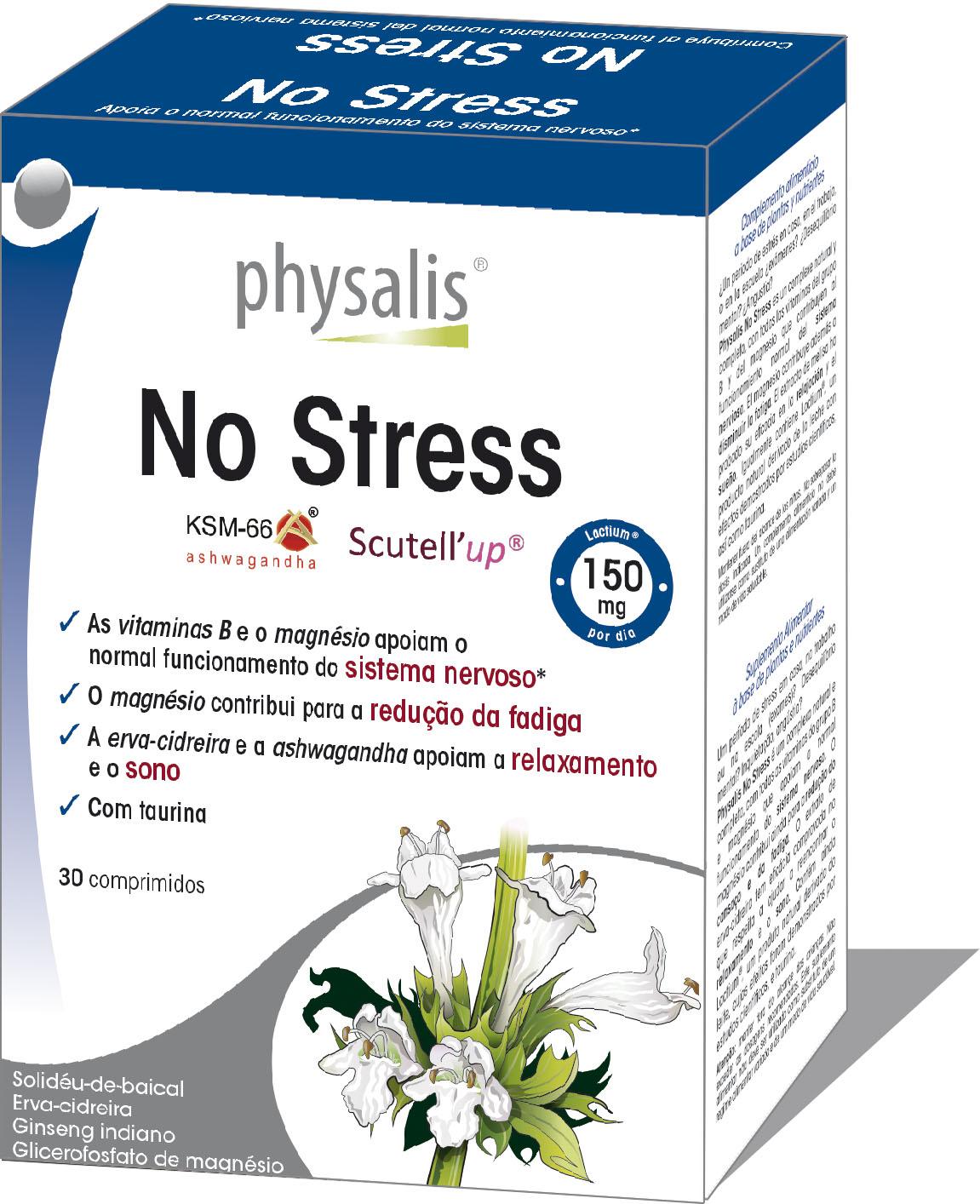 No Stress  Keypharm Suplementos alimentares naturais
