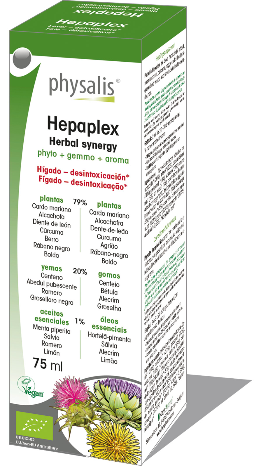 Hepaplex - Herbal synergy