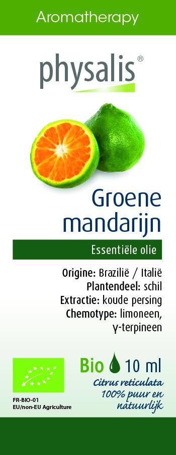 Physalis Groene mandarijn