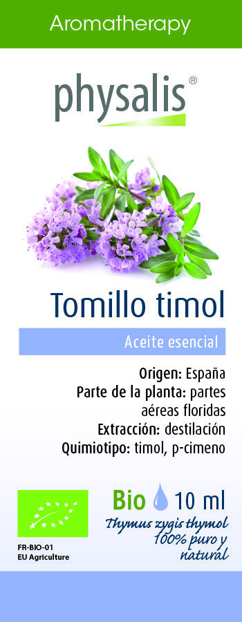 Physalis Tomillo timol